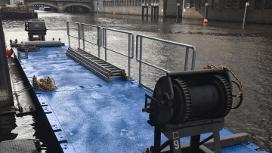 Schwimmplattform-Taucherponton Hamburg